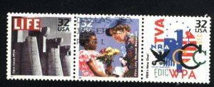 USA 3185c,d,e   u  VF 1998PD
