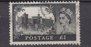 J26580  jlstamps 1959-68 great britain hv of set used #374 castles wmk 322