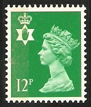 1986 GB Northern Ireland Scott NIMH18 Queen Elizabeth MNH