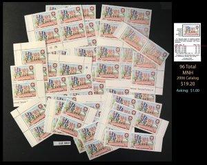 Nicaragua Dealer's Lot ~ Sct. 989 ~ 96 tot  ~ CLR90547