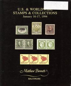 U.S. Stamps and Worldwide Stamps & Collections, Bennett 189