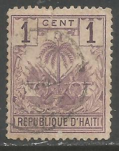 HAITI 32 VFU ARMS 1120A-4