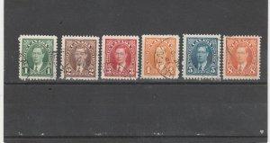 231-36 Canada Used George VI Mufti Issue
