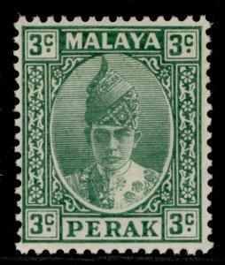 MALAYSIA - Perak GVI SG106a, 3c green, M MINT.
