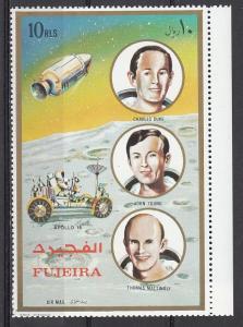 Fujeira, Mi cat. 1159 A. Apollo 16 Astronauts issue. *
