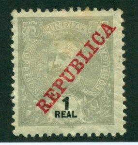 Portuguese India 1911 #244 MH SCV (2018) = $0.25