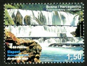BOSNIA & HERZEGOVINA / 2017, Štrbacki Waterfall (Una National Park), MNH