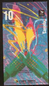 CANADA SGSB154 1996 OLYMPIC BOOKLET MNH