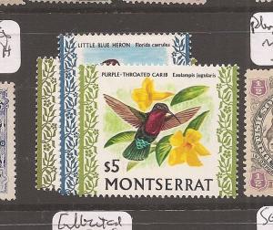 Montserrat Bird SG 252-4 MNH (2dac)