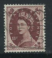 GB QE II  SG 528 Used nicely centered