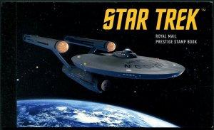 HERRICKSTAMP NEW ISSUES GREAT BRITAIN Star Trek 2020 Presitge Booket