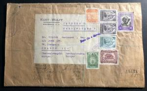 1948 Guatemala Commercial Wrapper Cover To Prague Czechoslovakia
