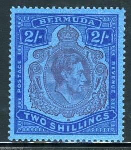 BERMUDA STANLEY GIBBONS #116b MINT LH FULL ORIGINAL GUM