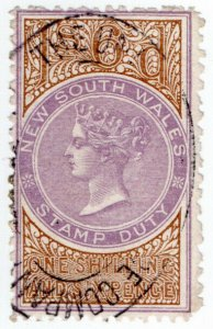 (I.B) Australia - NSW Revenue : Stamp Duty 1/6d