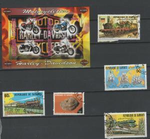 Djibouti stamps and mini mint sheet