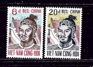 South Vietnam 411-12 MNH 1972 set