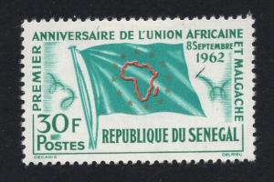 Senegal    #211  1962  MH  African Union 30fr