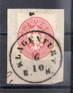 nr. 32. stamped klagenfurt B. H.  on paper