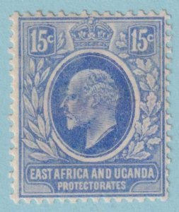 EAST AFRICA AND UGANDA PROTECTORATE 36  MINT HINGED OG - NO FAULTS VERY FINE!
