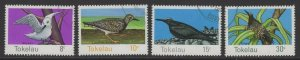 TOKELAU ISLANDS SG57/60 1977 BIRDS FINE USED