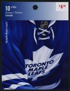 Canada 2676a booklet MNH NHL - Toronto Maple Leafs, Hockey, Sports