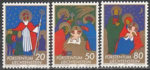 Liechtenstein #726-8  MNH  (S8846)