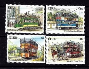 Ireland 681-84 Hinged 1987 Streetcars