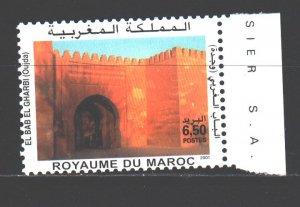 Morocco. 2001. 1376. Architecture. MNH.