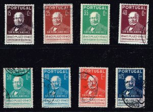 PORTUGAL STAMP 1940 USED STAMPS SET