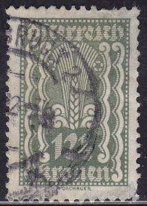 Austria 258 USED 1922 Symbols of Agriculture 12
