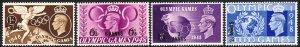 1948 Oman KGVI Olympic Games complete MNH set MNH Sc# 27 / 30 CV $6.40
