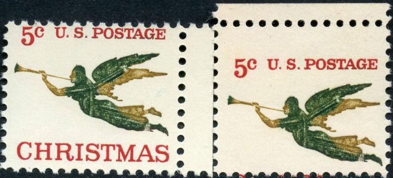 #1276 PERF SHIFT ERROR W/ CHRISTMAS MISSING BM4906
