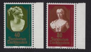 Liechtenstein  #685-686  MNH 1980  Europa