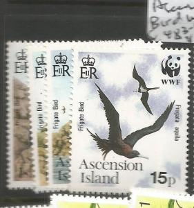 Ascension Island Bird WWF SC 483-6 MNH (8czt)