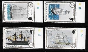 Tristan da Cunha 1983 Ship MNH A497