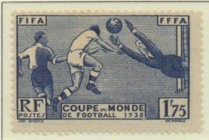 France Stamp Scott #349, Mint Hinged