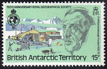 British Antarctic Territory # 79 mnh ~ 15p William Gooden...