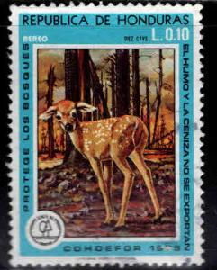 Honduras  Scott 592 Used  stamp