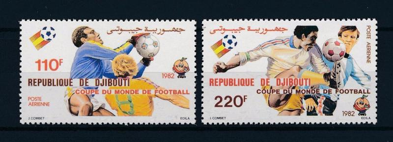 [59506] Djibouti 1982 World Cup Soccer Football Spain MNH