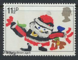 Great Britain  SG 1170 SC# 960 Used / FU with First Day Cancel - Christmas 1981