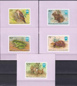 Malagasy #532-5, C145 MNH Deluxe Sheets  CV $7.40 (A18480)