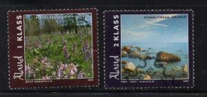 Aland Finland Sc 227-8  2004 Landscapes stamp set used