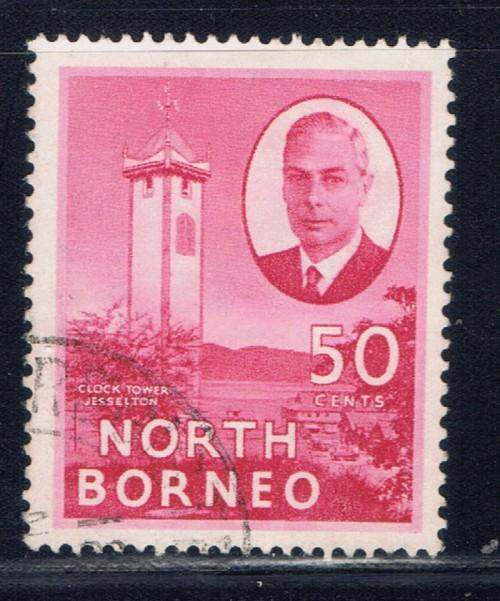 North Borneo 254 Used 1950 issue