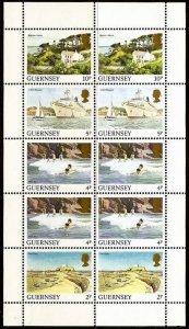 GUERNSEY 1984 , Pictorials MNH S/Sheet # 292a