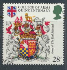 Great Britain  SG 1238 SC# 1042 Used / FU with First Day Cancel - College of ...