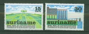 SURINAM/SURINAME 1974 MNH SC.413/14 Mechanical Agriculture