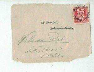 GUERNSEY 1942 WAR OCCUPATION stamps on Part envelope