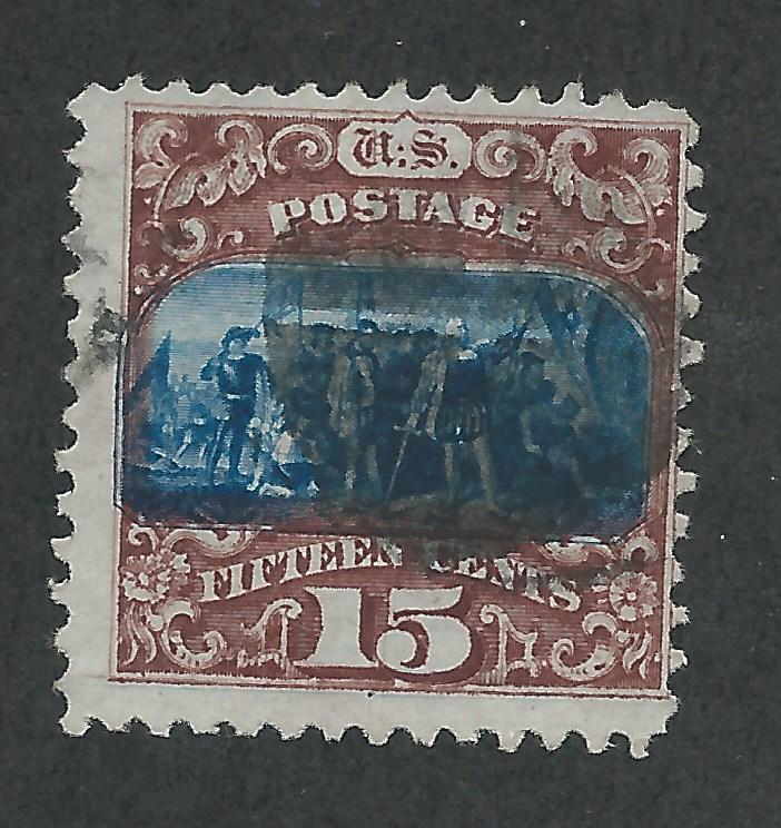 119 Used 15c. Pictorial, Type II, scv: $250