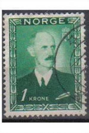 NORWAY 1946 Used 1krone King Haakon VII