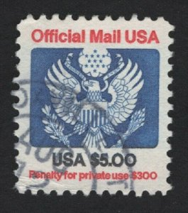 United States USED OFFICIALS - O133  F-VF #1 -  BARNEYS